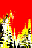 Red digital background stock photos