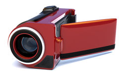 Red Digital Camera Royalty Free Stock Photography