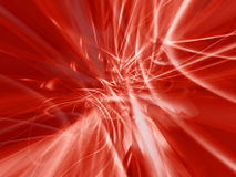 Red digital plasma Royalty Free Stock Photo