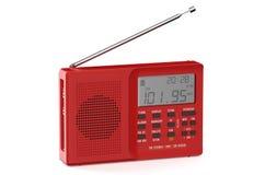 Red digital receiver Stock Photos