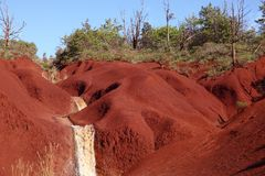 Red dirt Stock Photography