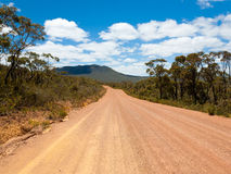 Red dirt road Stock Photos