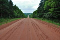 Red Dirt Road Stock Images