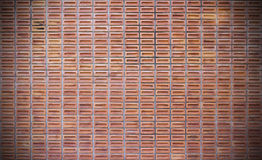 Red dirty brick wall background Stock Photos