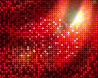 Red disco background Stock Images