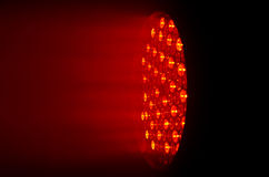 Red disco lighting source Royalty Free Stock Photo