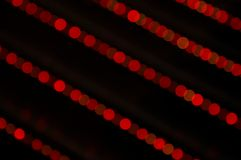 Red disco lights Stock Images