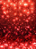 Red disco mosaic background Royalty Free Stock Image
