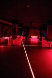 Red Discoteque Stock Photography