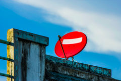 Red dish Stock Photography