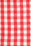 Red dish towel pattern Stock Photo