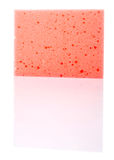 Red Dish Washing Sponge I Royalty Free Stock Image