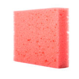 Red Dish Washing Sponge III Stock Image