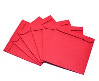 red disk envelopes Royalty Free Stock Photo