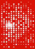 Red_display_digital Stock Afbeeldingen