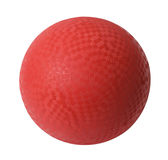 Red Dodge Ball Royalty Free Stock Image