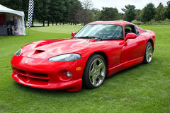 Red Dodge Viper GTS Royalty Free Stock Photography