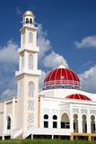 Red Domed Mosque Stock Image