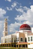 Red Domed Mosque Stock Images