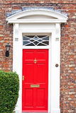 The red door Stock Images