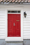 Red door Stock Image