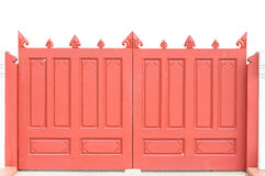 Red the door Royalty Free Stock Photography