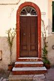 Red Door. On Elba Island Stock Images