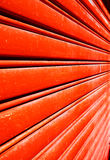 Red door abstract Stock Photo