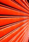 Red door abstract Stock Photo