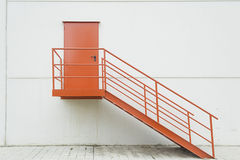 Red door access Royalty Free Stock Photo