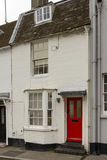 Red door cottage at Brighton, East Sussex Royalty Free Stock Photos