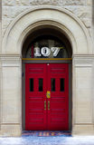 Red Door 107 Royalty Free Stock Images