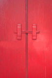 The red door. Stock Image
