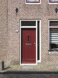 Red door, Netherlands Stock Photography
