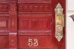 The Red Door Stock Image