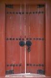 Red door, South Korea Royalty Free Stock Photo