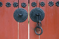 Red Door, South Korea Royalty Free Stock Images