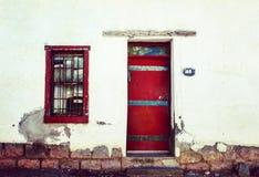 Red Door. Red Southwest Soor stock photography