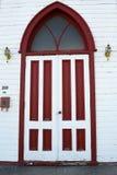 Red door Stock Photography