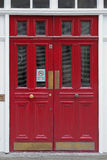Red Doors Royalty Free Stock Photos