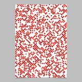 Red dot pattern brochure background - vector stationery template design. Red abstract dot pattern brochure background - vector stationery template design Stock Photography