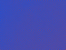 Red dots  on the blue background, graphic concept Royalty Free Stock Images