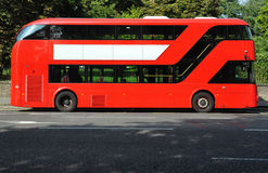 Red double deck bus Royalty Free Stock Photos