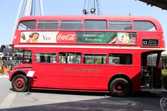 Red Double Decker Royalty Free Stock Photos
