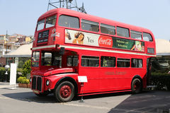 Red Double Decker Royalty Free Stock Image