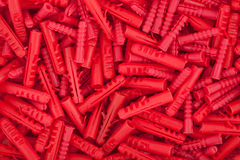 Red dowels texture Royalty Free Stock Photography