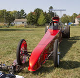 Red Drag Racer Stock Photography