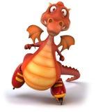 Red Dragon Royalty Free Stock Photos