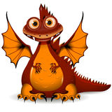 Red Dragon Stock Image