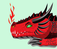 Red dragon. Stock Photography